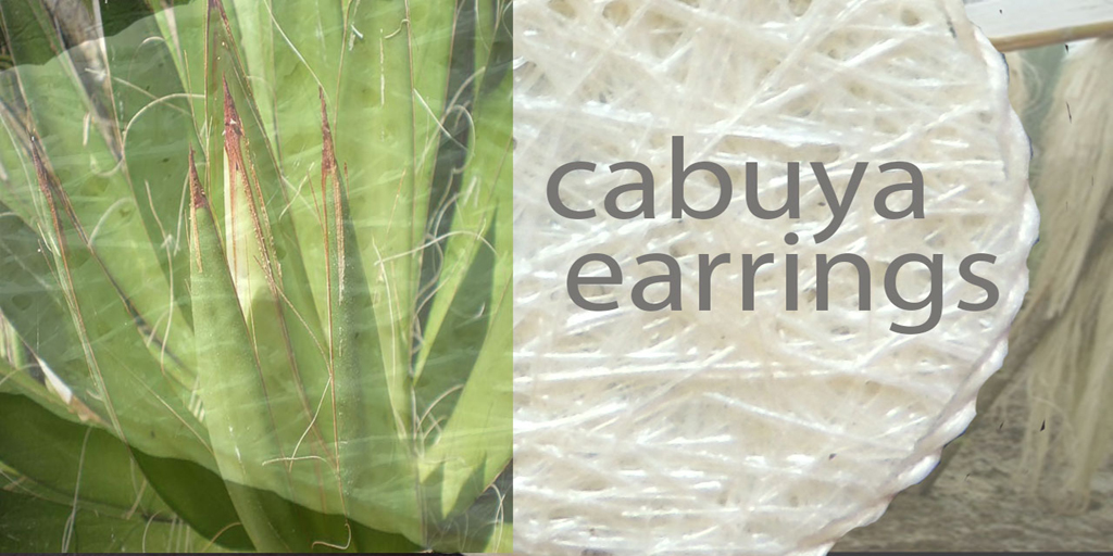 Lightweight earrings, with a touch of nature