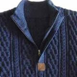 PopsPlaza.com Men's Fashion cardigans in baby alpaca