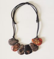 "Jewelry ""Taqua mixed colores"" necklace"