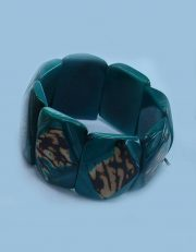 "Jewellery ""Tagua Acero"" bracelet made of natural Vegetable ivory (taqua)."