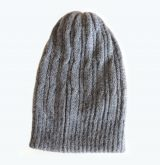 Double knitted hat in Alpaca blend