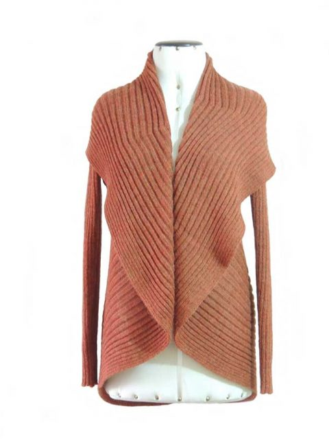 PFL knitwear Cardigan Keyla copper