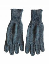 PFL knitwear Gloves jeans blue. alpaca