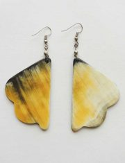 PFL jewelry bull horn earrings butterfly