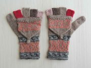 fingerless gloves,fingerless mittens,convertible mittens,alpaca gloves,knitted mittens