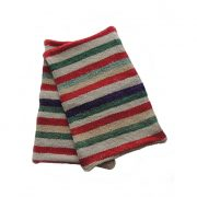 Set of 2 frazada pillow covers with colorfull stripe pattern