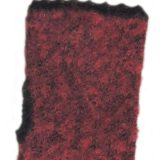 PFL knitwear Wirst warmers, knitted fingerless gloves with embroidered flower detail, boucle alpaca blend