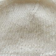 Beanie / hat 100%  alpaca naturally dyed colors, women's winter beanie, creme white