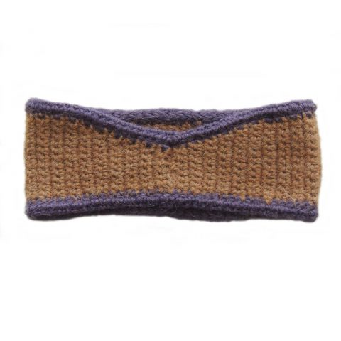 Hairband 100% alpaca natural dyed colors