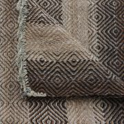 Peruvian runner 158 x  33 inch, rug, frazada handwoven 100% alpaca in natural colors