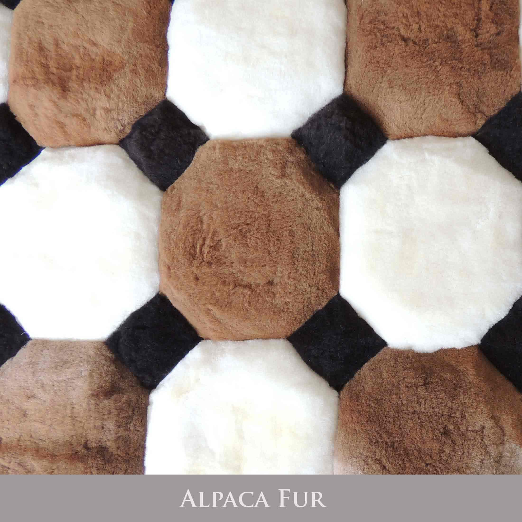PopsPlaza home collection Peruvian alpaca fur