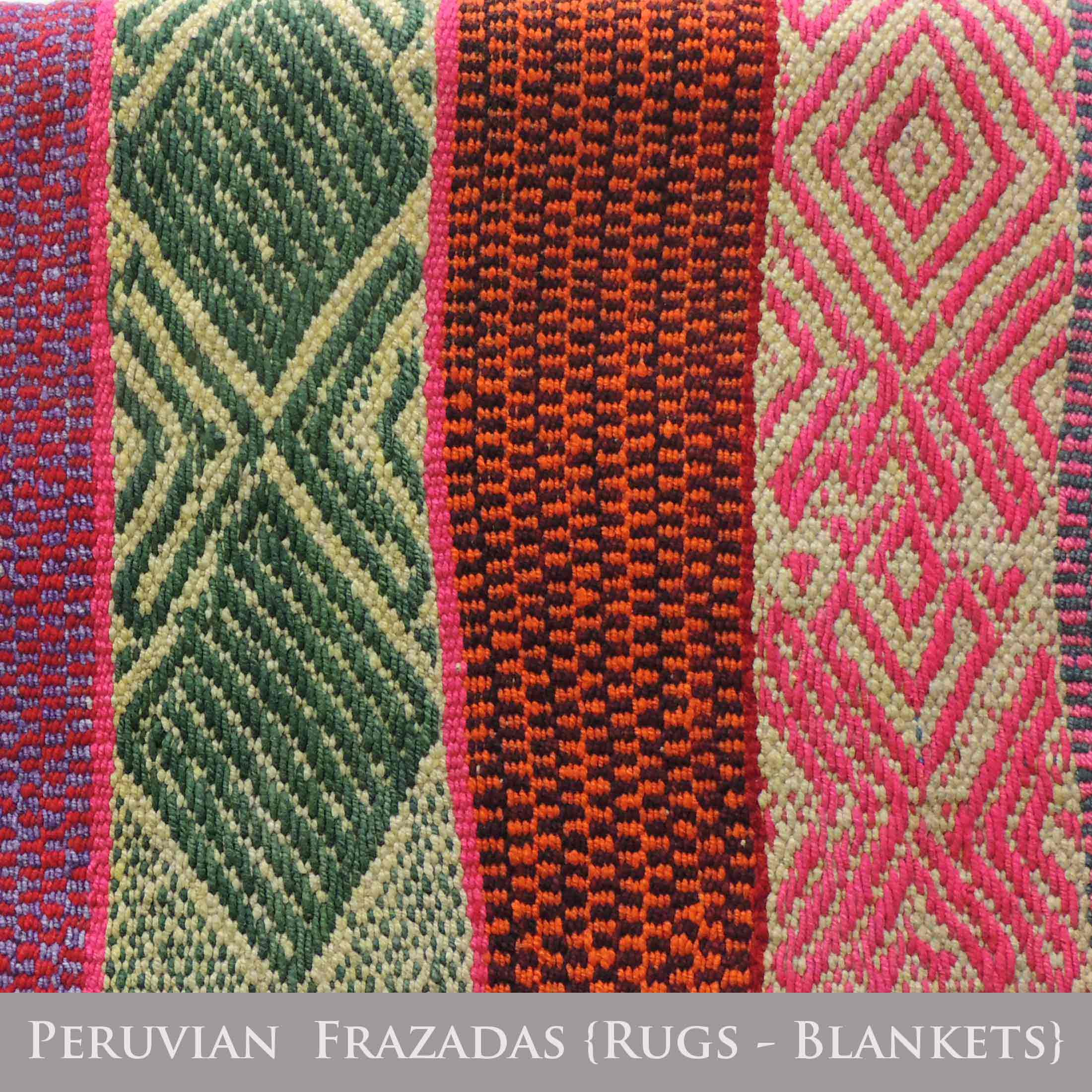 PopsPlaza home collection Peruvian frazasad , rugs, blankets