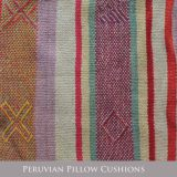 PopsPlaza home collection Peruvian pillow cushions, pillow cases