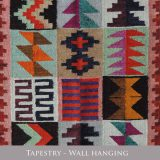 PopsPlaza home collection Peruvian tapestry wall hanging